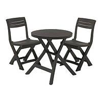 Комплект мебели для балкона Keter Jazz set серый