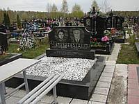 Памятник гранитный на могилу полированный  Стелла-С8 95х45х8..