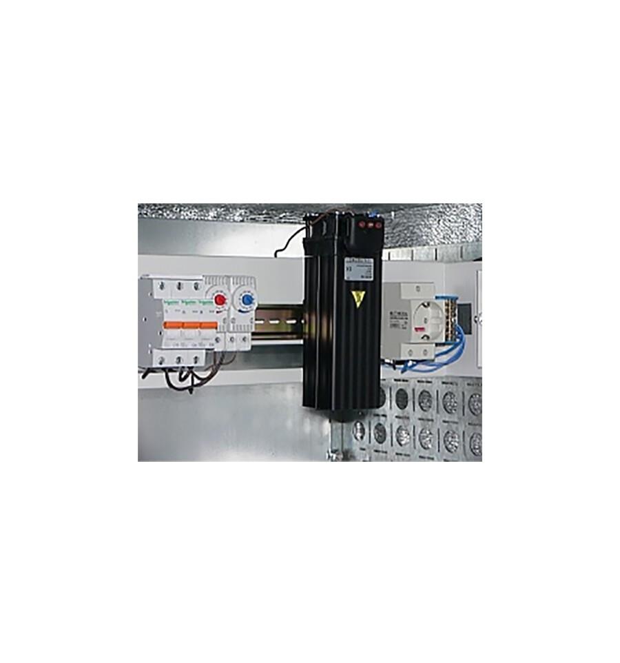 Блок управления климатом ЕРП 3U, обогреватель 150Вт, терморегулятор, автомат
