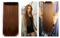 Волосы ТЕРМО на заколках тресс прядь  56см #12