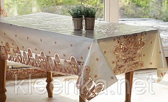 Клеенка на кухонный стол Ажур Тюльпаны, фото 2