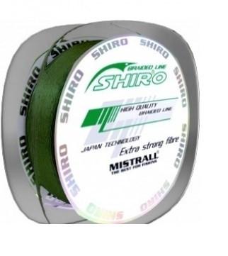 Шнур MISTRALL SHIRO BL GREEN 0.06mm 3,80kg 135m ZM-3420006