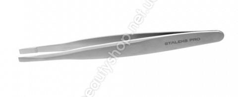 Пинцет Сталекс TE-20/4 Expert 20 TYPE  4 (Т7-11-05) узкие скошенные кромки