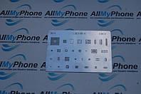 BGA-трафарет S5019 для мобильного телефона Samsung Galaxy I9500 S4