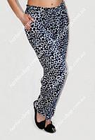 Женские летние брюки большого размера 01257, размер 50-56