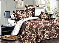"""Красивый полуторный комплект постельного белья """"Гретта""""."""