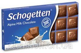 Шоколад Schogetten Alpine Milk Chocolate 100 г (Германия)