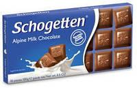 Шоколад Schogetten Alpine Milk Chocolate 100 г (Германия), фото 1