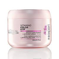 Маска для волос , защита цвета .Питательная гель-маска Vitamino-Color A-OX 200 мл