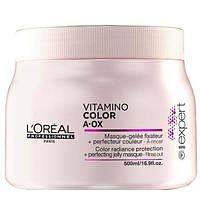 Маска для волос , защита цвета .Питательная гель-маска Vitamino-Color A-OX 500 мл