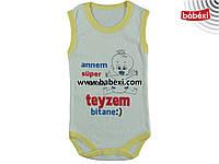 Боди на 3, 6, 9, 12, 18, 24 месяца. Детская одежда оптом из Турции. Доставка 5-7 дней.