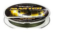 Шнур Select Master PE 100m 0.12мм 15кг темн.-зелен.