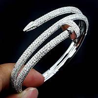 Браслет серебро 925. копия Cartier