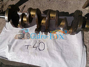 Вал коленчатый (коленвал) Т-40, Д-144 Кт.Н. Д37М-1005011-Б