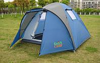 Трехместная однослойная палатка Coleman Green Camp 1012