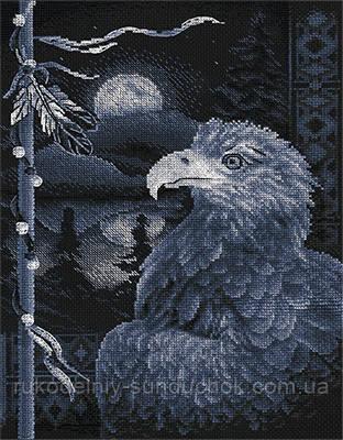 """Набор для вышивки крестом """"Panna"""" Легенда о птице ПТ-1767"""