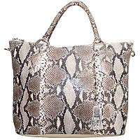 Женская сумка из кожи питона (PT 816 Natural)
