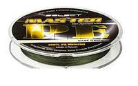 Шнур Select Master PE 150m 0.16мм 19кг темн.-зелен.