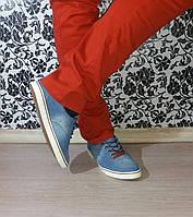 Мужские джинсовые кеды
