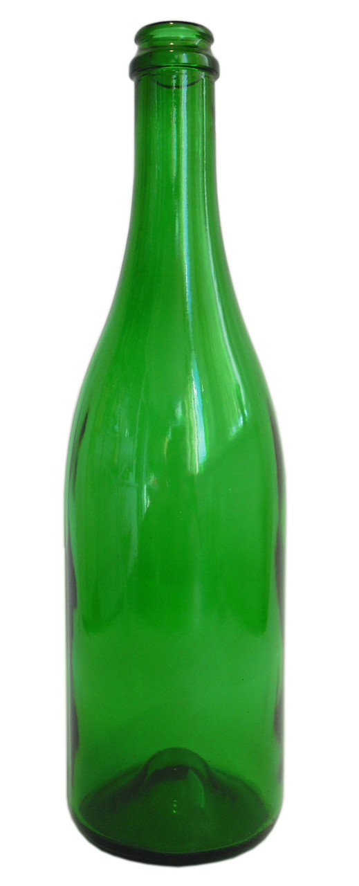 Бутылка из цветного стекла Sparkling Wine 750мл.