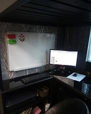 Двухярусная кровать-чердак Джерри + (стол, комод, стеллаж) массив, фото 3