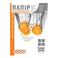 Универсальная глянцевая фотобумага А4 colorway 125г/м ПГУ125-100 100 листов