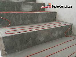 Монтаж кабеля Fenix ADSV 18-1700 вт ( Делаем теплые полы на лестнице ) 10