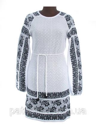 Платье женское Сокальский узор (рукав реглан) х/б | Плаття жіноче Сокальський візерунок (рукав реглан) х/б, фото 2