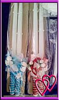 Свечи венчальные Розы 55 см, цвет в ассортименте