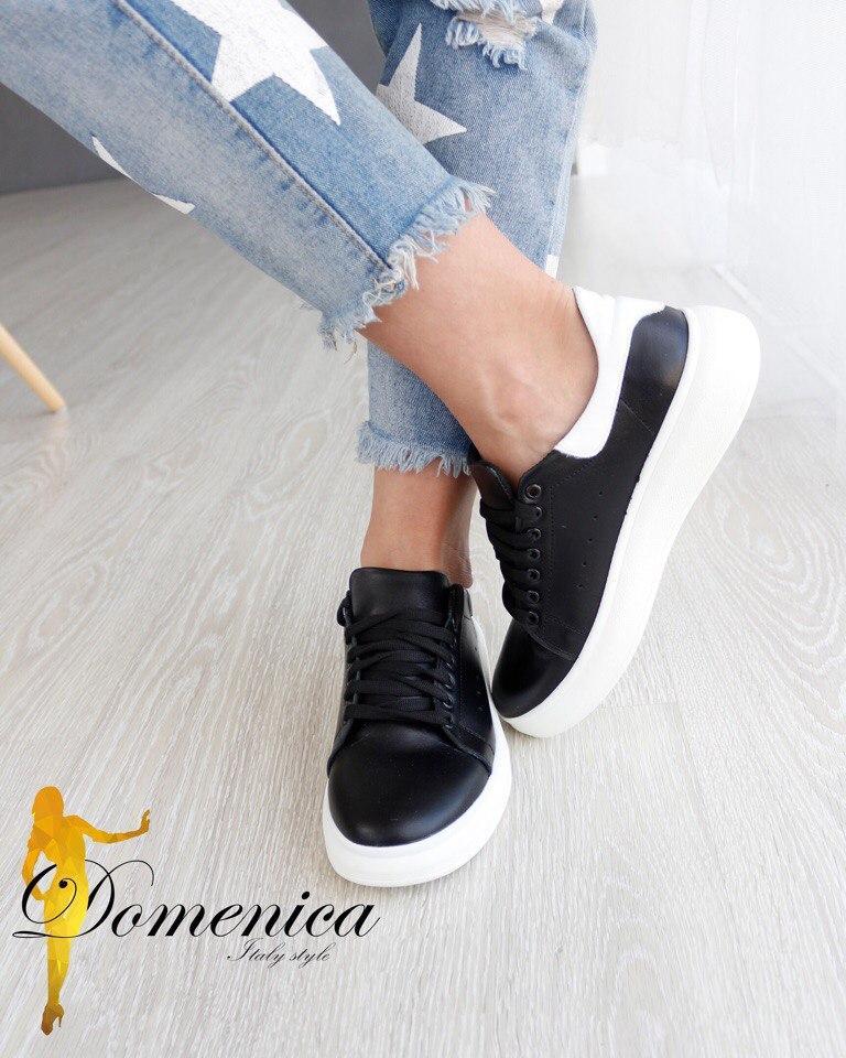 ea010248 Модные кроссовки из натуральной кожи, цена 940 грн., купить в ...