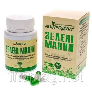 """""""Зелені манни"""" Витамины для диабетиков 60т годен до 10.20"""