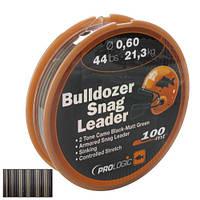 Шоклидер Prologic Bulldozer Snag Leader 100m 58lbs 27,8kg 0.70mm Camo