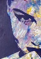 Фотообои Светящиеся Лицо Девушки Желание Абстракция Декор Стен Дизайн Интерьера