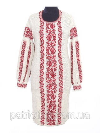 Вязаное платье Львовянка   В'язане плаття Львів'янка, фото 2