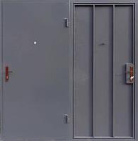 Металлическая входная - техническая  дверь сталь 3мм. замок Арико(с ручкой)