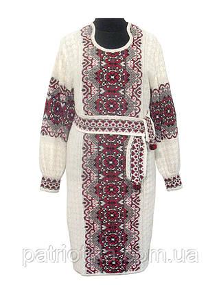 Женское платье Соломия красная   Жіноче плаття Соломія червона, фото 2