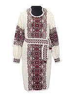 Женское платье Соломия красная   Жіноче плаття Соломія червона