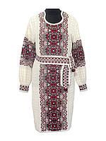 Женское платье Соломия красная | Жіноче плаття Соломія червона