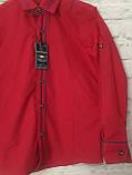 Рубашка красная для мальчиков на рост 98-122, фото 2