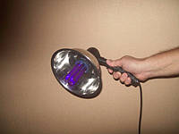 Осветитель для дерматологической диагностики — лампа Вуда