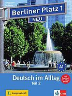 Berliner Platz 1 neu Kursbuch + Arbeitsbuch. Teil 2. A1. Deutsch im Alltag + CD (проект №26)