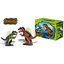 Динозавр Спинозавр ходит, музыкальный со светом, в коробке , фото 2