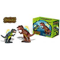 Динозавр Спинозавр ходит, музыкальный со светом, в коробке , фото 1