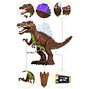Динозавр Спинозавр ходит, музыкальный со светом, в коробке , фото 3