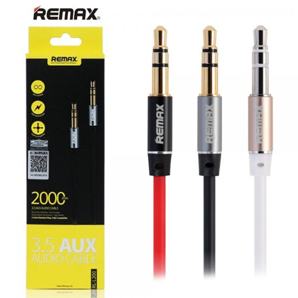 Аудио кабель Remax AUX RL-L200 2 метра