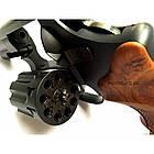 """Револьвер Stalker S 2.5"""" (барабан силумин) коричневая рукоять, фото 4"""
