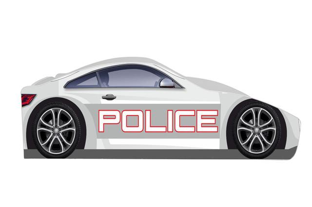 Кровать Полиция New White