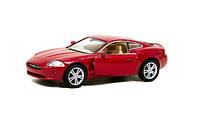 """Модель легковая  5"""" kt5321w jaguar xk coupe метал.инерц.открываються двери1:38 кор."""
