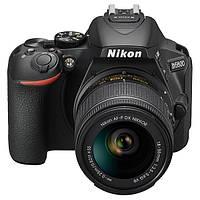 Фотоапарат Nikon D5600 kit (18-55mm VR) Black