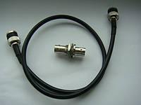 Кабель BNC-BNC для радиомикрофона Sennheiser g1 g2 g3, BNC to BNC Coaxial Cable, Type RG58